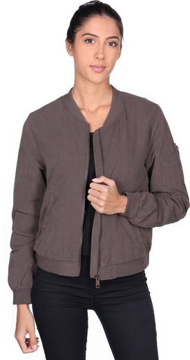 REVIEW Sommerjacke »Lace Up Bomber W«