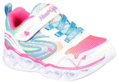 Skechers Kids »HEART LIGHTS« Sneaker mit blinkender Laufsohle