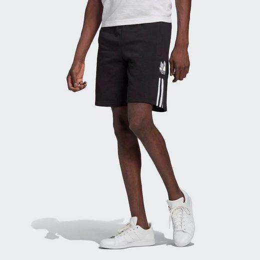 adidas Originals Shorts »ADICOLOR 3D TREFOIL 3-STREIFEN SWEAT«