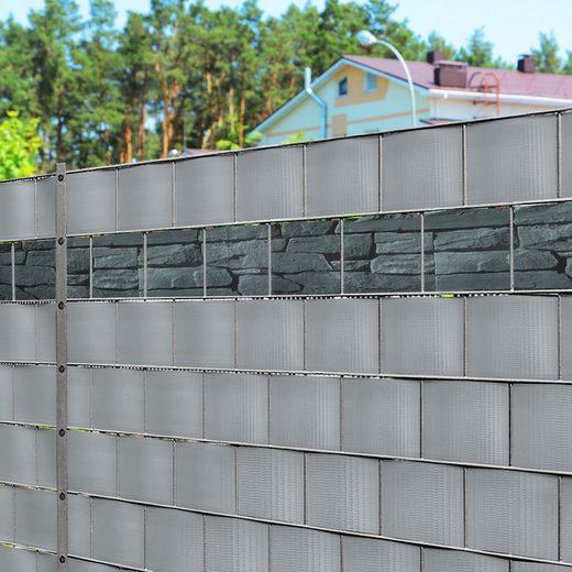 Kubus Sichtschutzstreifen »PVC-Sichtschutzstreifen für Gittermatten-Zäune«