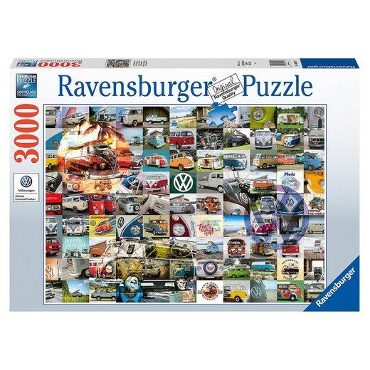 Ravensburger 99 Bulli Moments, 3.000 Teile