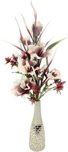 Kunstpflanze Magnolie, I.GE.A., Höhe 92 cm