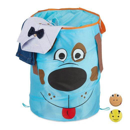 relaxdays Wäschekorb »Pop-Up Wäschekorb für Kinder«