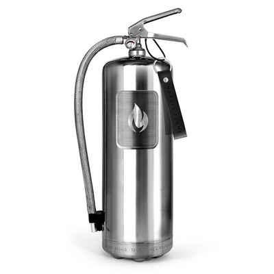 Nordic Flame Pulver-Feuerlöscher »Nordic Flame Feuerlöscher Edelstahl Poliert 6 Kg«
