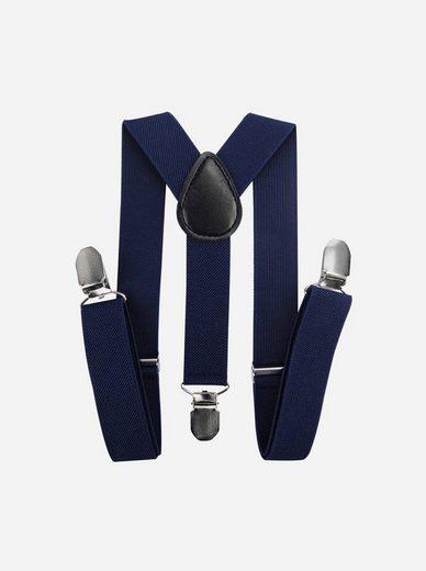 axy Hosenträger »Kinder Jungen Hosenträger« für Kinder 1-6 Jahre alt, 3 Stabile Clips Y-Form 2,5cm Breit verstellbar und elastisch