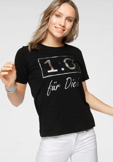 STOOKER WOMEN Print-Shirt »Cara« mit Foil-Print, EM-Fan-Shirt