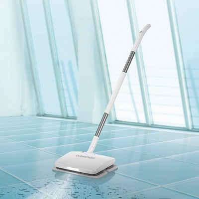 CLEANmaxx Akku-Wischmopp, Vibrationsmopp 11,1V weiß