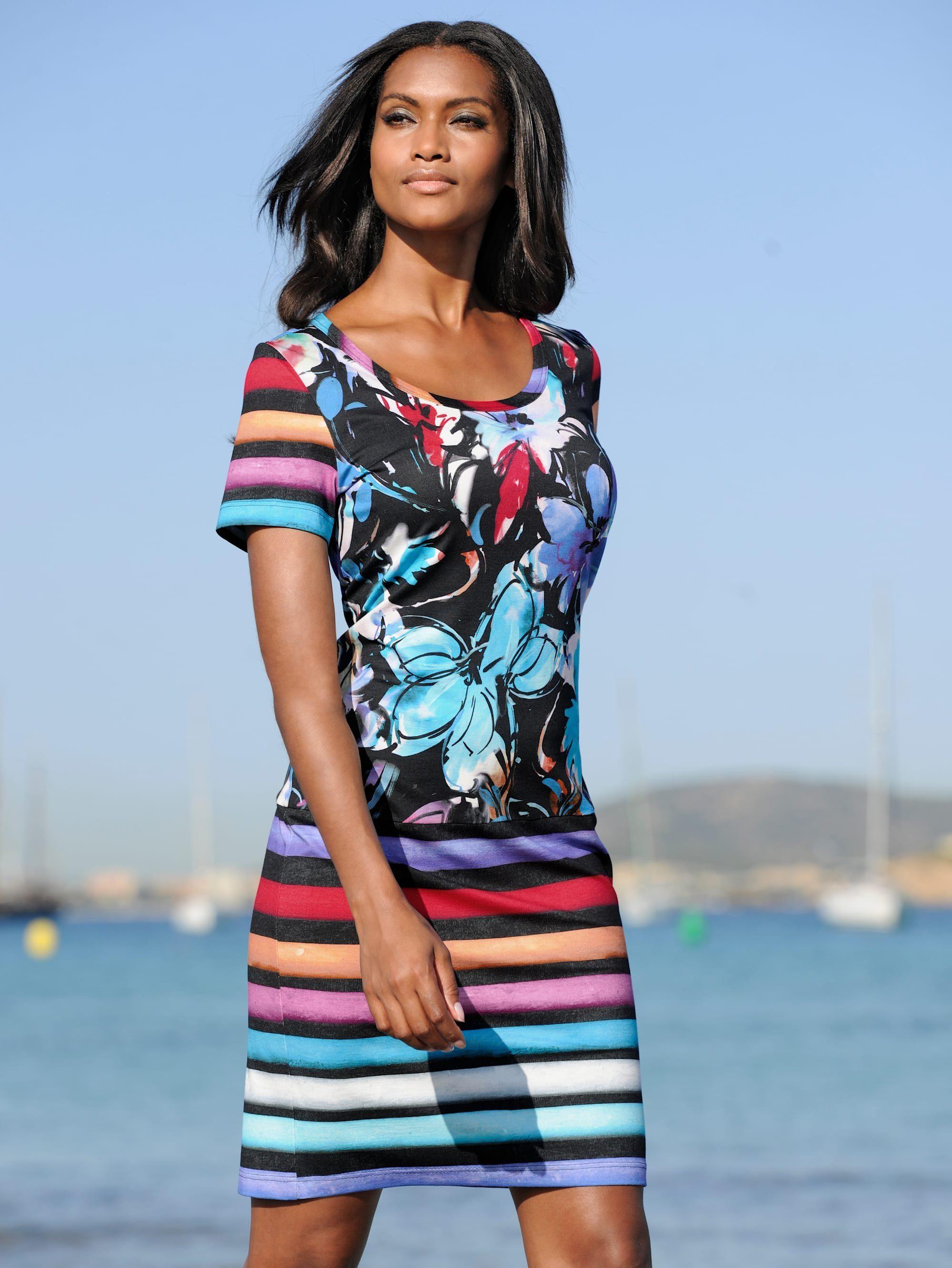 Alba Moda Strandkleid in Musterkombination kaufen