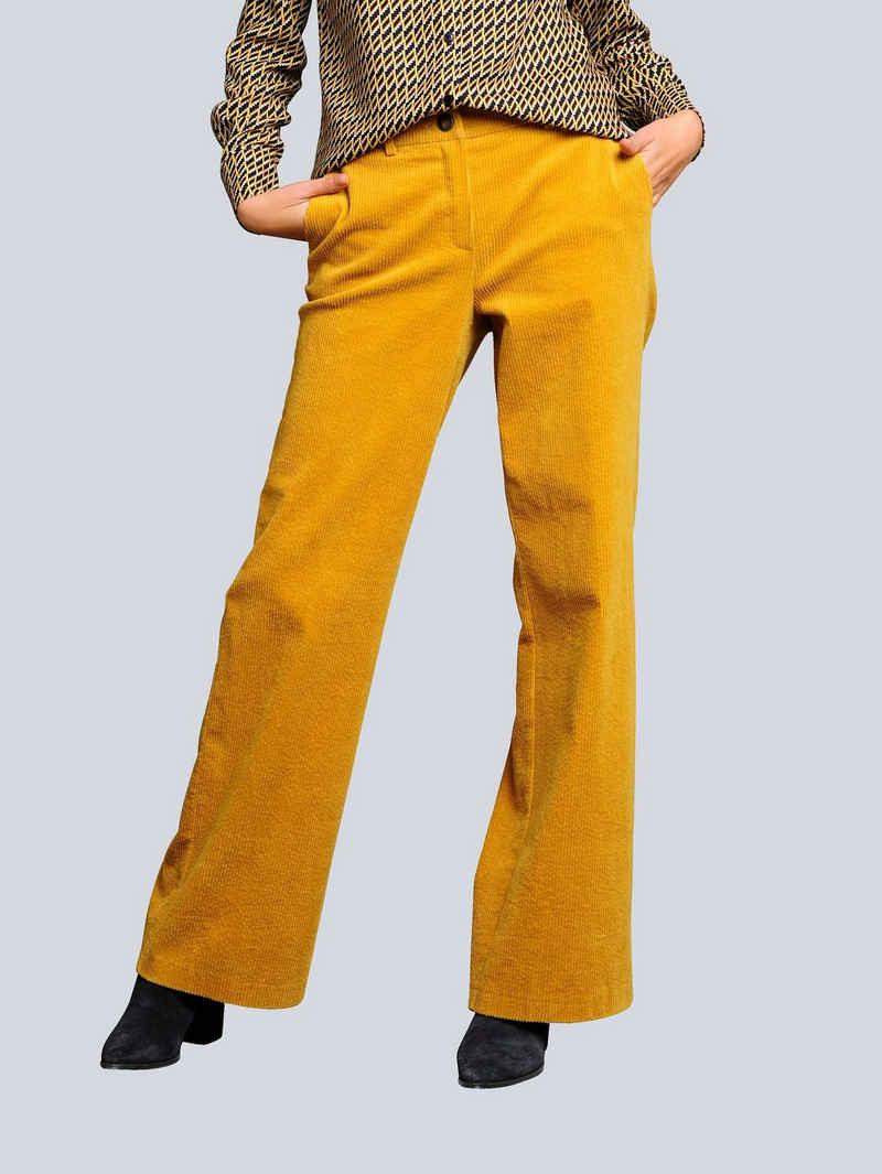 Alba Moda Cordhose in angesagtem Breitcord