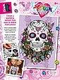 MAMMUT Spiel und Geschenk Kreativset »Sequin Art Teen Craft - Flower Skull«, Bild 1
