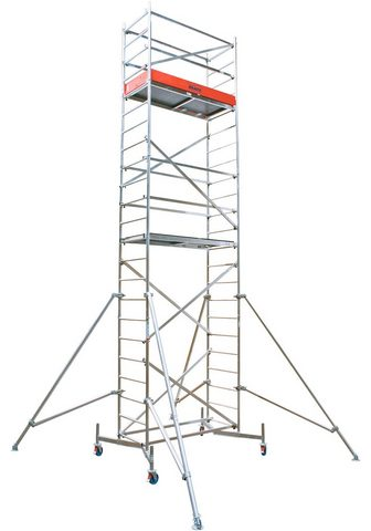 KRAUSE Fahrgerüst »ClimTec« Arbeitshöhe: 7 m