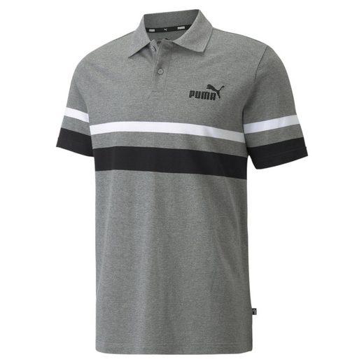 PUMA Poloshirt »Essentials Stripe Herrenpoloshirt«
