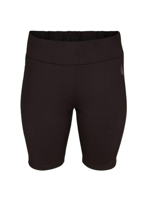 Hosen - Active by ZIZZI Trainingsshorts Große Größen Damen Slim Fit Shorts mit Stretch ›  - Onlineshop OTTO