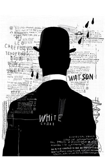 Art & Pleasure Acrylglasbild »Black and White man«, Menschen