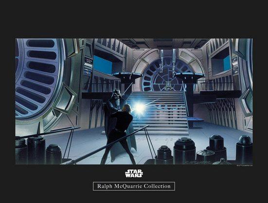 Komar Poster »Star Wars Classic RMQ Vader Luke Throneroom«, Star Wars