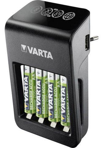 VARTA » LCD Plug Charger+ dėl iki zu 4 AA/AA...