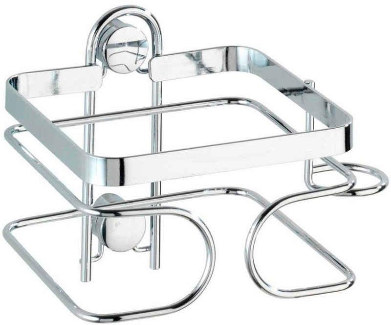 WENKO »Premium« Haartrocknerhalter, (aus rostfreiem Edelstahl)