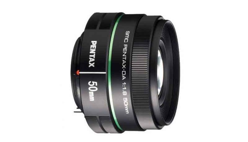 Pentax »SMC 50mm 1:1,8 DA« Objektiv