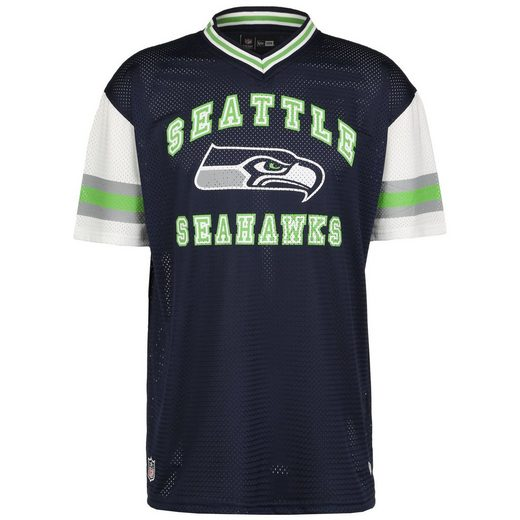 New Era Print-Shirt »Nfl Seattle Seahawks Stripe Sleeve Oversized«