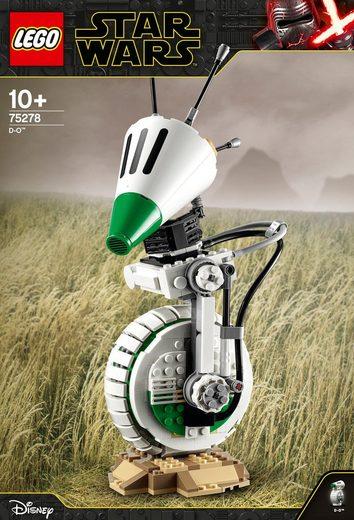 LEGO® Konstruktionsspielsteine »D-O™ (75278), LEGO® Star Wars™«, (519 St)