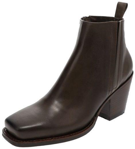 Sendra Boots »12131 Marron Damen Lederstiefelette« Stiefelette