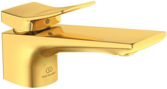 Ideal Standard Waschtischarmatur »Check« (1-St) ohne Ablaufgarnitur, Brushed Gold