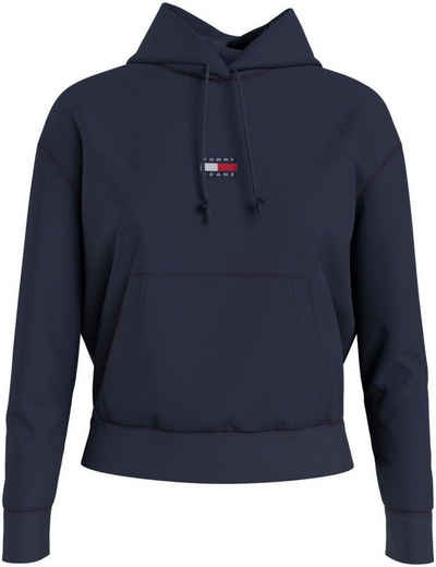 Tommy Jeans Kapuzensweatshirt »TJW Tommy Center Badge Hoodie« mit Tommy Jeans Logo-Badge auf der Brust