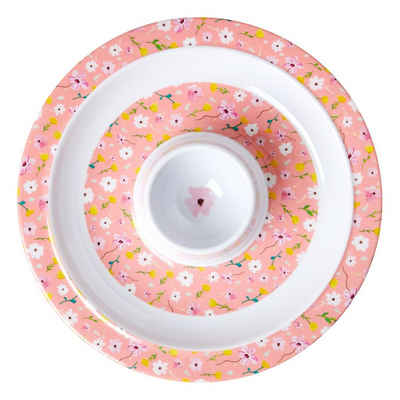 """rice Eierbecher »Melamin Eierbecher """"Pink Spring Flower"""", Ø16,8cm«"""