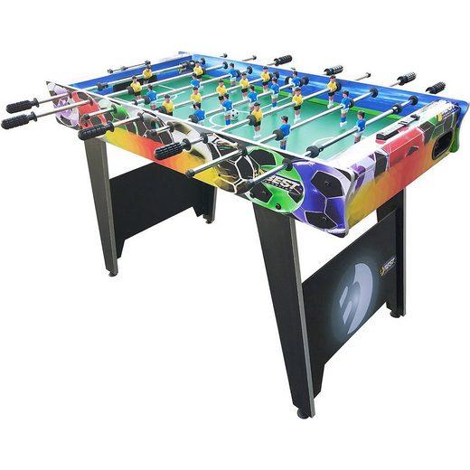 Best Sporting Kickertisch »Kickertisch World of Soccer 122 x 61 x 79 cm«