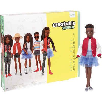 Mattel® Anziehpuppe »Creatable World Deluxe Set, gestaltbare Puppe mit«