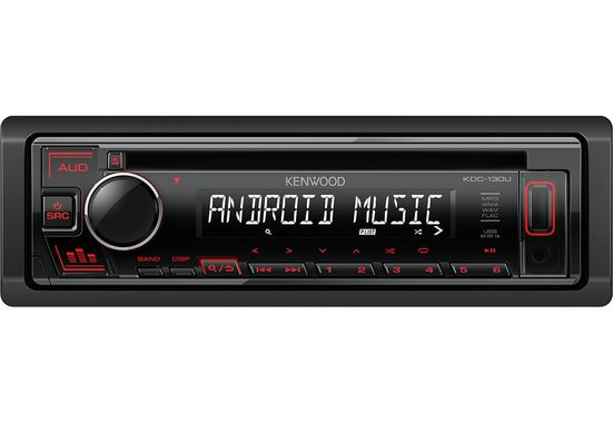 Kenwood Audio-System (Kenwood KDC-130UR - CD, MP3, USB, Aux-In Autoradio)