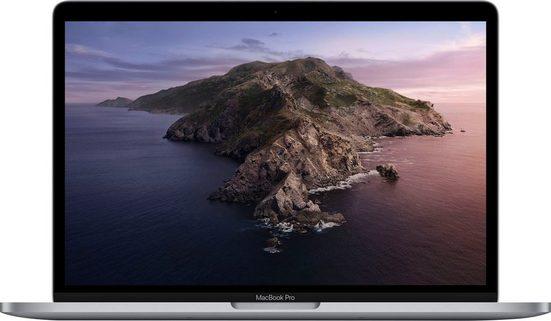 Apple MacBook Pro Notebook (33,78 cm/13,3 Zoll, Intel Core i5, Iris Plus Graphics 645, - GB HDD, 256 GB SSD, inkl. Office-Anwendersoftware Microsoft 365 Single im Wert von 69 Euro)