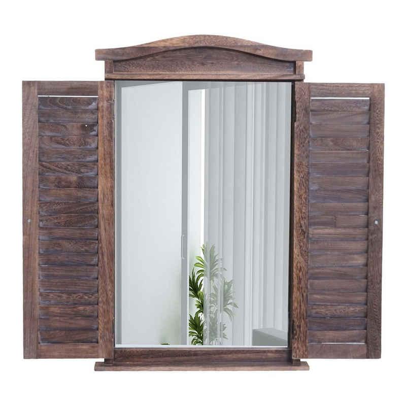 MCW Wandspiegel »Spiegel« (1-St), Fensterladenoptik, Einfache Wandmontage durch 2 Aufhängeösen