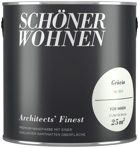 SCHÖNER WOHNEN-Kollektion Wand- und Deckenfarbe »Architects' Finest - Gràcia«, 2 l