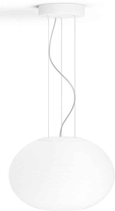 Philips Hue LED Pendelleuchte »White & Col. Amb. Flourish weiß 3000lm«, Hängeleuchte, Smart Home