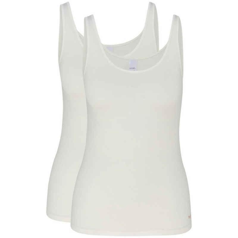 Speidel Unterhemd »2er-Pack Bambus« (2 Stück), Achselhemd - Flache, softe Abschlüsse, Für ein angenehm trockenes und frisches Gefühl auf der Haut, Ananliegendes Unetrhemd ohne störenden Seitennähte