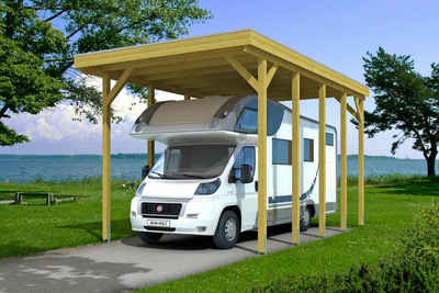 Skanholz Einzelcarport »Friesland«, 351 cm Einfahrtshöhe, für Caravan