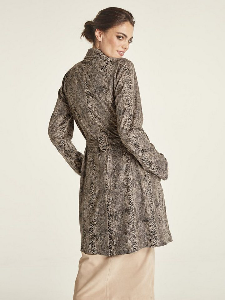 heine -  TIMELESS Trenchcoat im Animalprint