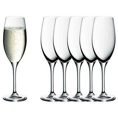 WMF Sektglas, Kristallglas, easy Plus 6-teilig