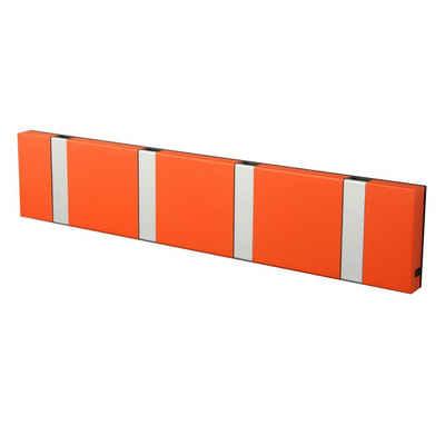 LoCa Garderobe »LoCa Garderobe Knax 4 hot orange (Haken klappbar Alu)«