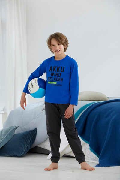 Buffalo Pyjama mit coolem Druck