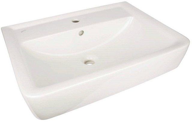 Waschtische - GEBERIT Waschbecken »Renova Nr. 1«, mit Überlauf, eckig, Breite 65 cm  - Onlineshop OTTO