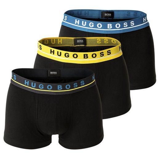 Boss Boxer »Herren Boxer Shorts, 3er Pack - Trunks, Logobund,«
