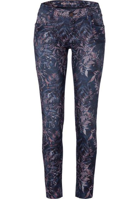 Hosen - BLUE FIRE 5 Pocket Hose »ALICIA« mit floralem Alloverprint ›  - Onlineshop OTTO