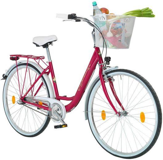 PERFORMANCE Citybike Damen »Pisa«, 26/28 Zoll, 3 Gang, Rücktrittbremse