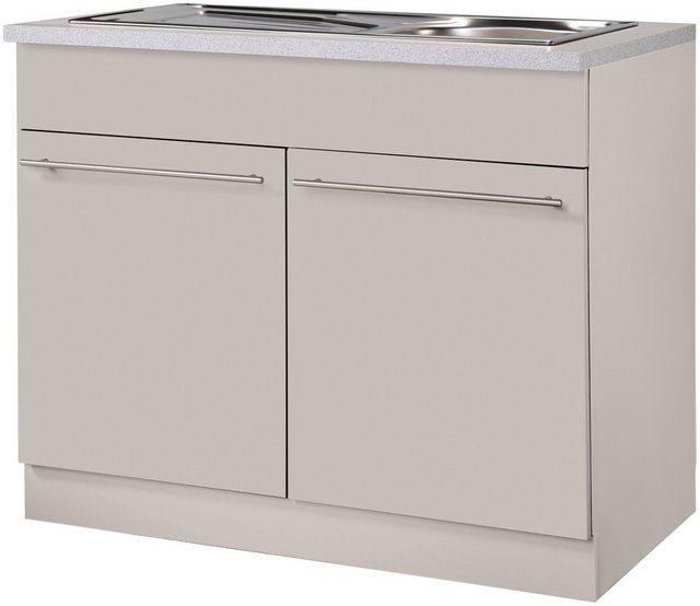 Küchenschränke - wiho Küchen Spülenschrank »Chicago« 100 cm breit  - Onlineshop OTTO