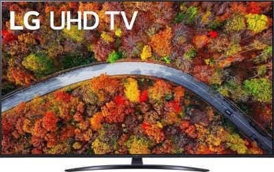 LG 55UP81009LA LCD-LED Fernseher (139 cm/55 Zoll, 4K Ultra HD, Smart-TV, LG Local Contrast, Sprachassistenten, HDR10 Pro, LG ThinQ, inkl. Magic-Remote Fernbedienung)