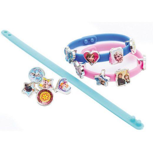 Joy Toy Schmuckset »Disney Frozen 2 3 Armbänder mit 18 Charms«