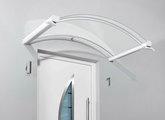 Gutta Bogenvordach »TYP BV/B«, 200x90x25 cm, weiß-transparent
