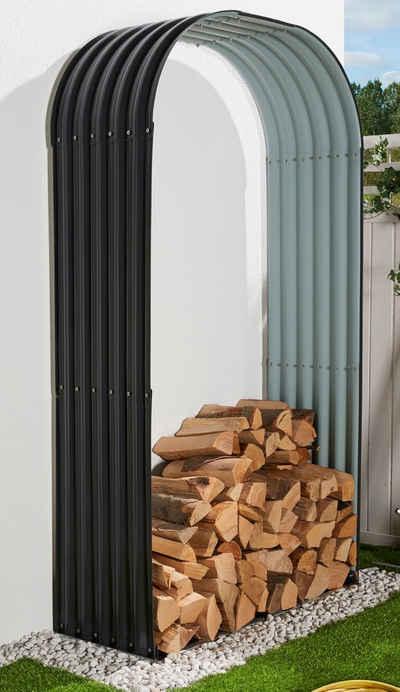KONIFERA Kaminholzregal »WS-T1«, BxTxH:103x40x200 cm